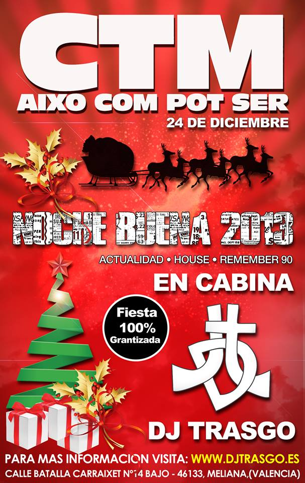DJ TrAsGo Noche Buena 2013
