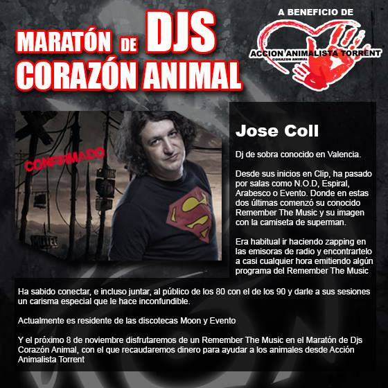 jose coll maraton djs benefica
